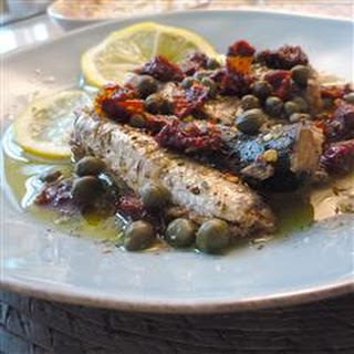 Sardines with Sun-Dried Tomato and Capers