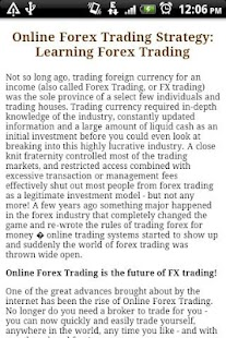 Strategy for Forex. - screenshot thumbnail