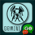 Gemini Zodiac Theme for GO SMS