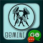 Gemini Zodiac Theme for GO SMS icon