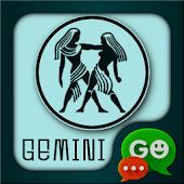 Gemini Zodiac Theme for GO SMS
