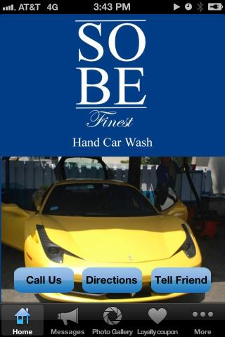 SoBe Finest Hand Car Wash- screenshot