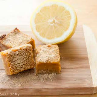 Clean Eating Lemon Bars.