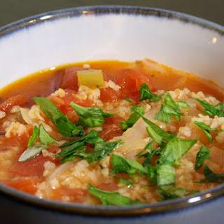 Tomato-Bulgur Soup
