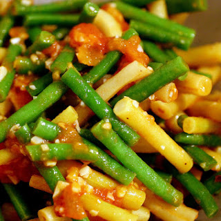 Mixed Bean Salad (with Tomato and Lemon).