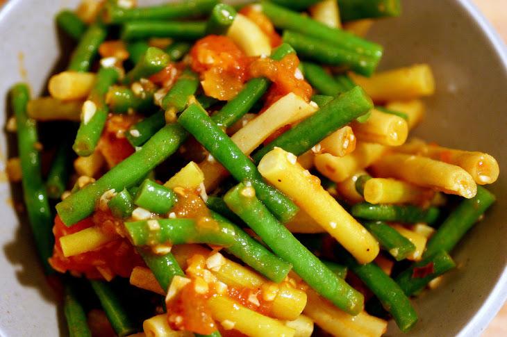 Mixed Bean Salad (with Tomato and Lemon) Recipe