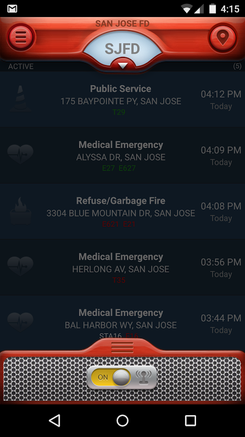 PulsePoint Respond- screenshot