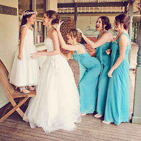 Sweet Fun by Alan Evans - Wedding Groups ( bridesmaids, wedding photography, wedding day, wedding, aj photography, bride, flower girl,  )