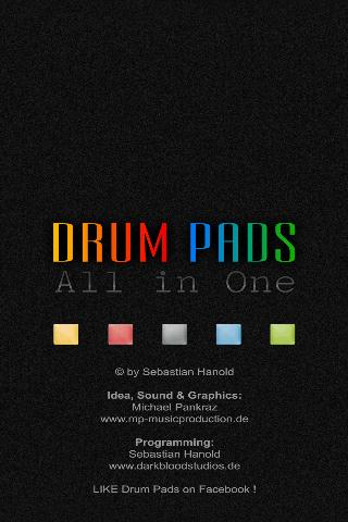 All-in-One Drum Pads– skärmdump