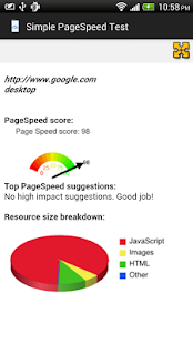SimplePageSpeed- screenshot thumbnail