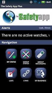 The Safety App Plus- screenshot thumbnail
