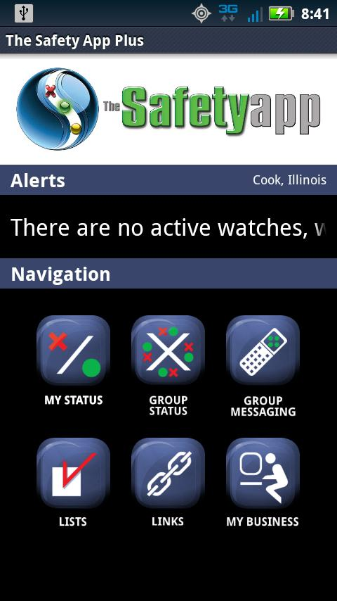 The Safety App Plus- screenshot