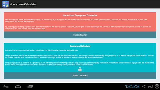 玩免費財經APP|下載Home Loan Calculator app不用錢|硬是要APP