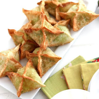 Avocado Cream Cheese Wonton