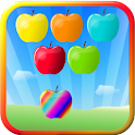 Apple Bubbles (bubble shooter) logo