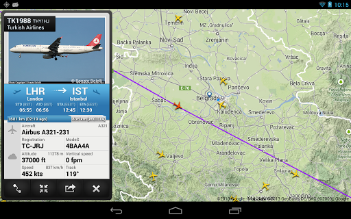 Flightradar24 Pro for Android - Version 6 4 1 | Free Download Apps