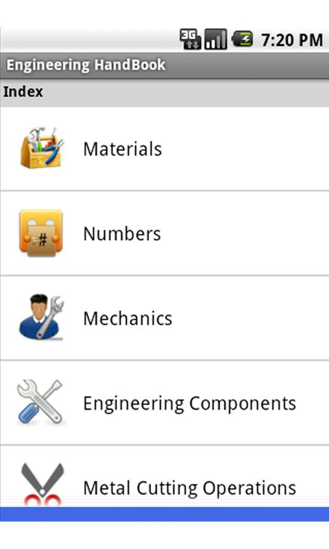 Engineering Handbook Lite- screenshot