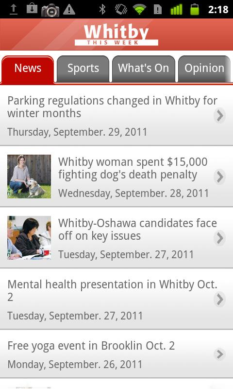 Whitby This Week - screenshot