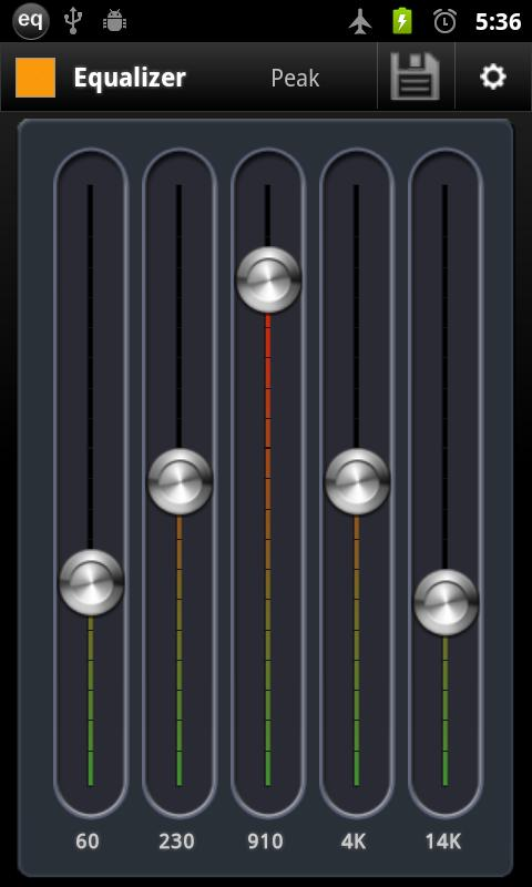 AnEq Equalizer Free - screenshot