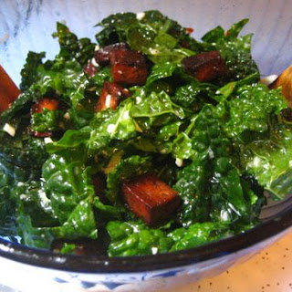 Kale and Balsamic Tofu Salad