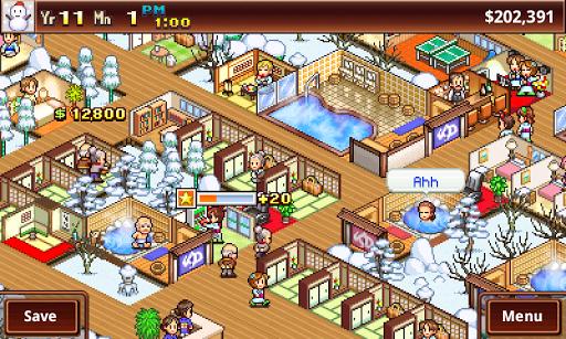 لعبة Hot Springs Story v1.2.5 لجوالات الاندرويد