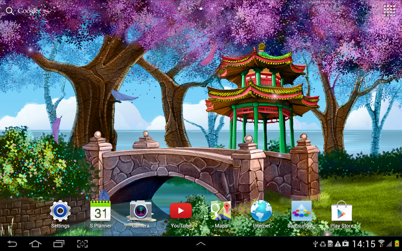 Magic Garden Live Wallpaper  Android Apps on Google Play