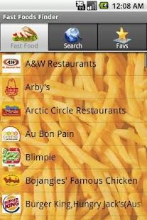 Fast Food Finder Pro