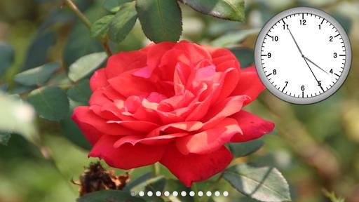풍경이 있는 시계