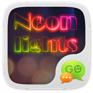 GO SMS PRO NEONLIGHT THEME for Android