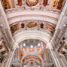 Salzburg Dom #4 by Jebark Fineartphotography - Buildings & Architecture Places of Worship ( altar, salzburg, church, dom, cathedral, architecture, worship, religious, austria )