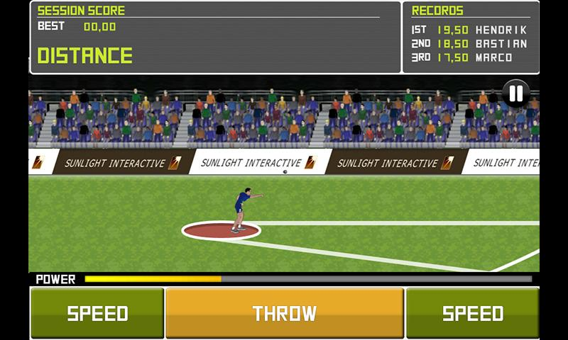 Deluxe Track&Field LITE- screenshot