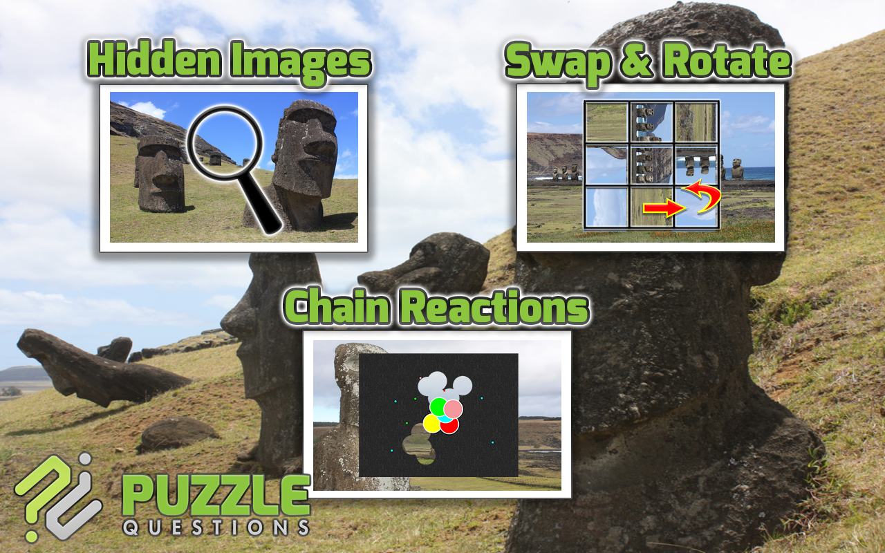 Easter Island Puzzle Games- screenshot