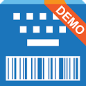 Barcode Keyboard + NFC, Demo icon