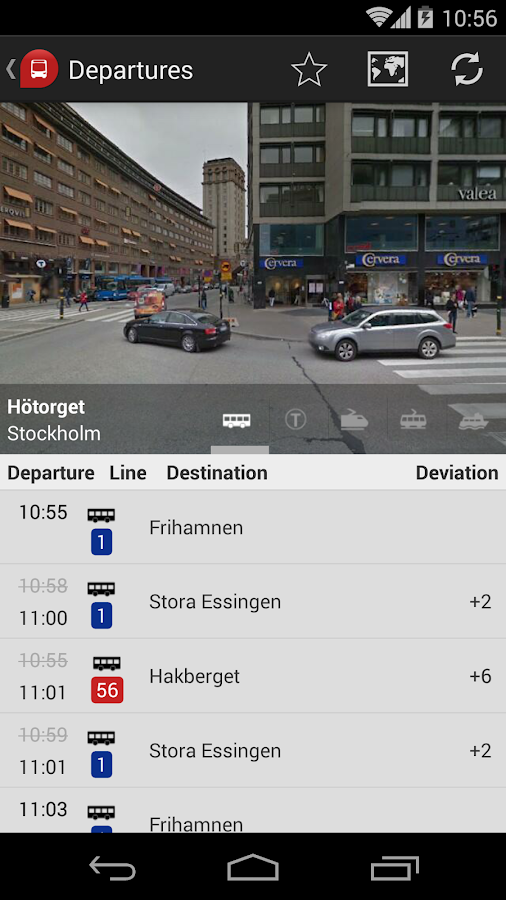 sl card stockholm bus