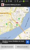Screenshot of İstanbul Nöbetçi Eczane