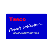 Tesco points collector