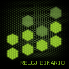 Reloj Binario con Temas icon