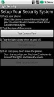 Screenshot of Light Security