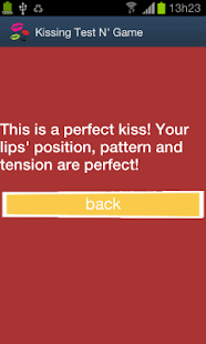 Kissing Test N' Game - screenshot thumbnail