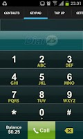 Screenshot of Dial 25 Long Distance Service