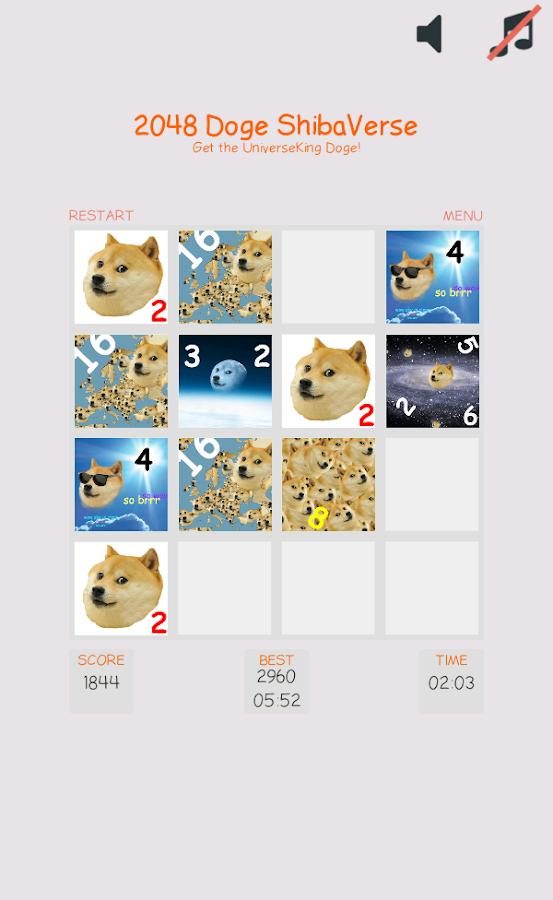 2048 doge game - The talk wiki