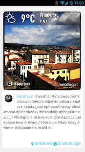 Metwit Social Weather Forecast - screenshot thumbnail
