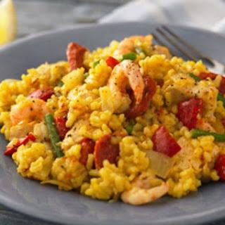 Chicken and Prawn Paella Recipe