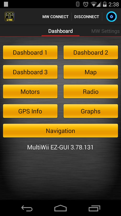 MultiWii EZ-GUI - screenshot