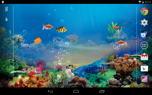 玩個人化App|水族馆动态壁纸(Free&Pro)免費|APP試玩