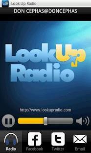 Look Up Radio- screenshot thumbnail