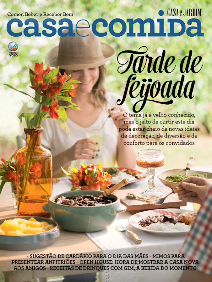 Revista Casa e Comida - screenshot