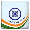India Flag 3D Balloon HD LWP icon