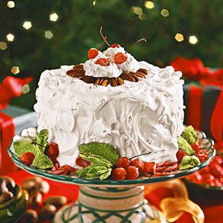 Pecan Divinity Cake