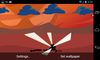 Screenshot of Stickman Wallpaper